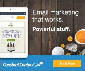 Email Marketing powered by Constant Contact