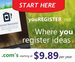 YouRegister.net - Where You Register Domain Names