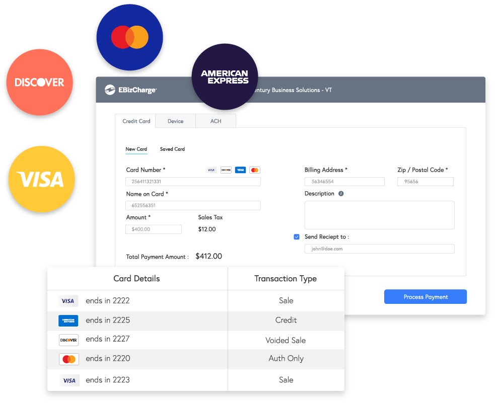 Manage your payments in one place & save time