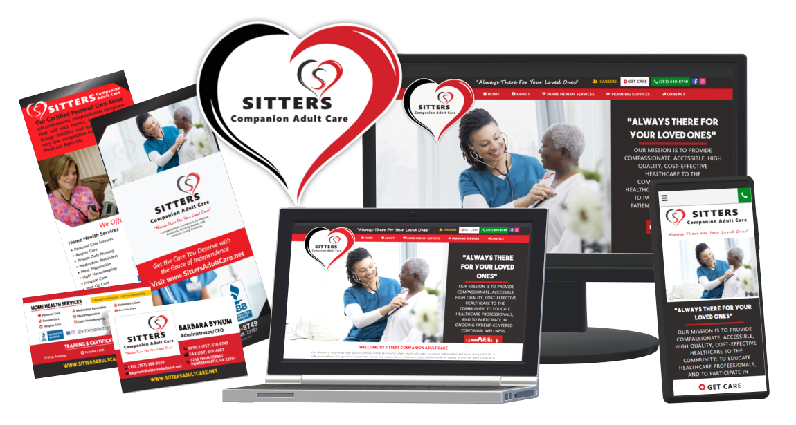 SittersAdultCare.net Website Redesign and Branding Campaign