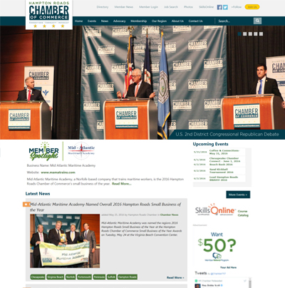 HamptonRoadsChamber.com Now