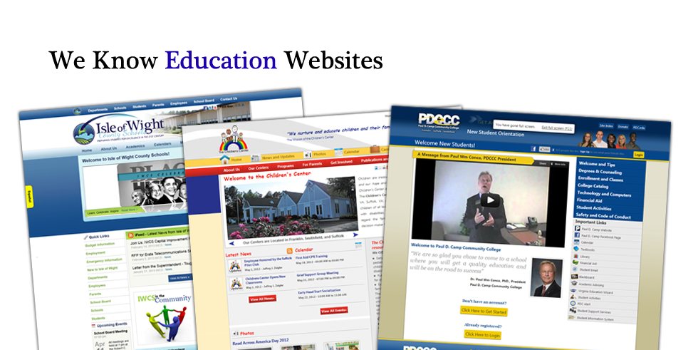 We Know Education Website Design