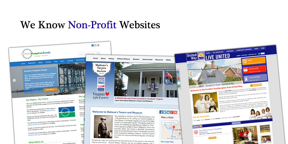We Know Non-Profit Website Design
