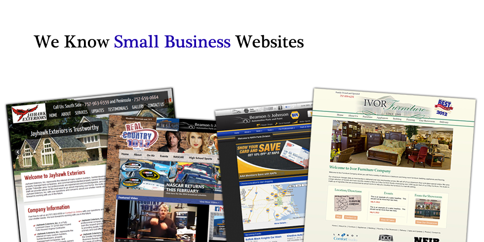 We Know Small Business Website Design