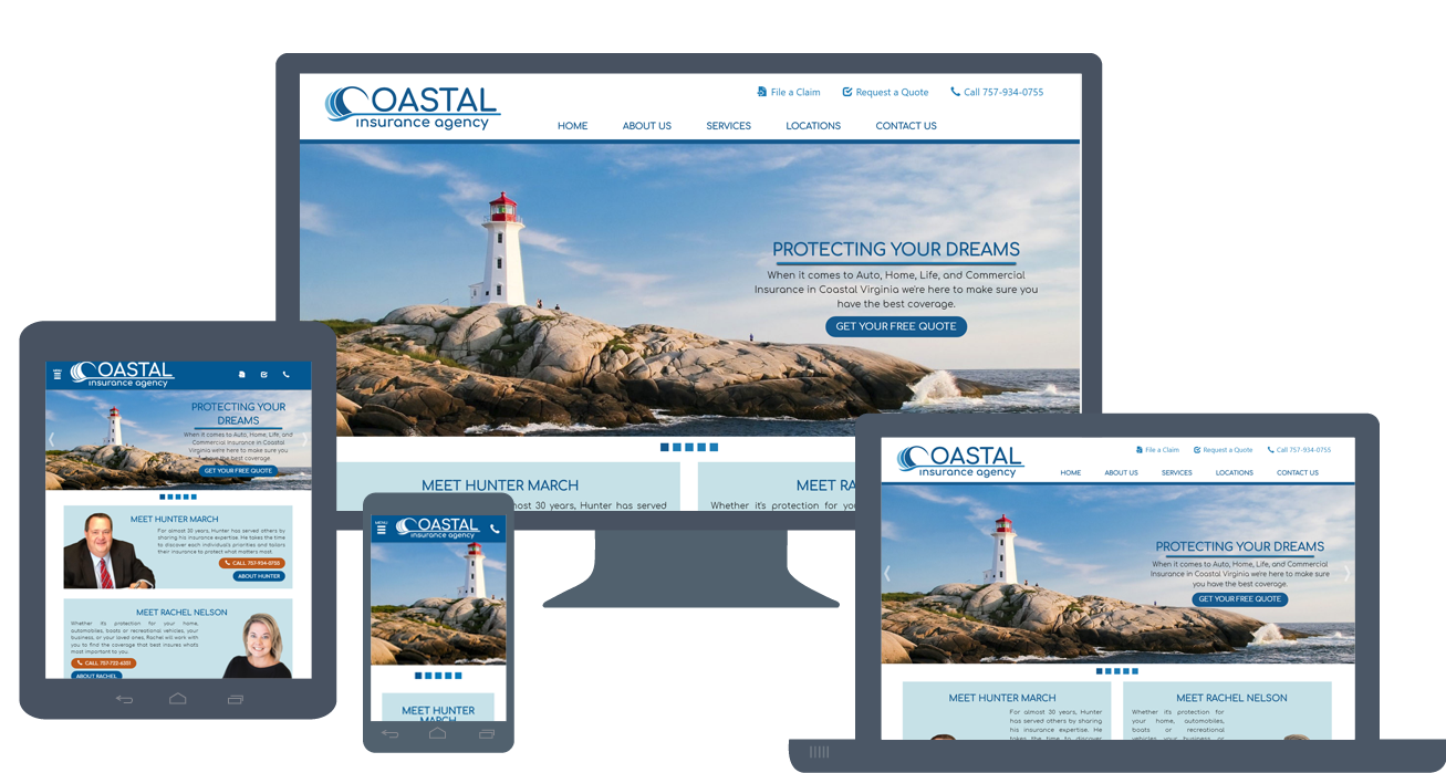 Website Launch: CoastalInsuranceVA.com