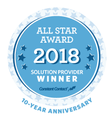 Press Release: Insercorp Receives Award for 2018 All Star Constant Contact Solutions Provider