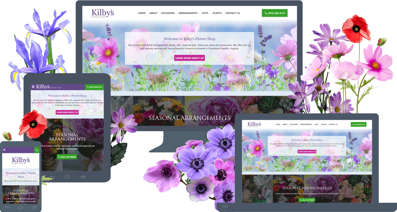 Website Launch: KilbysFlowerShop.com (2018)