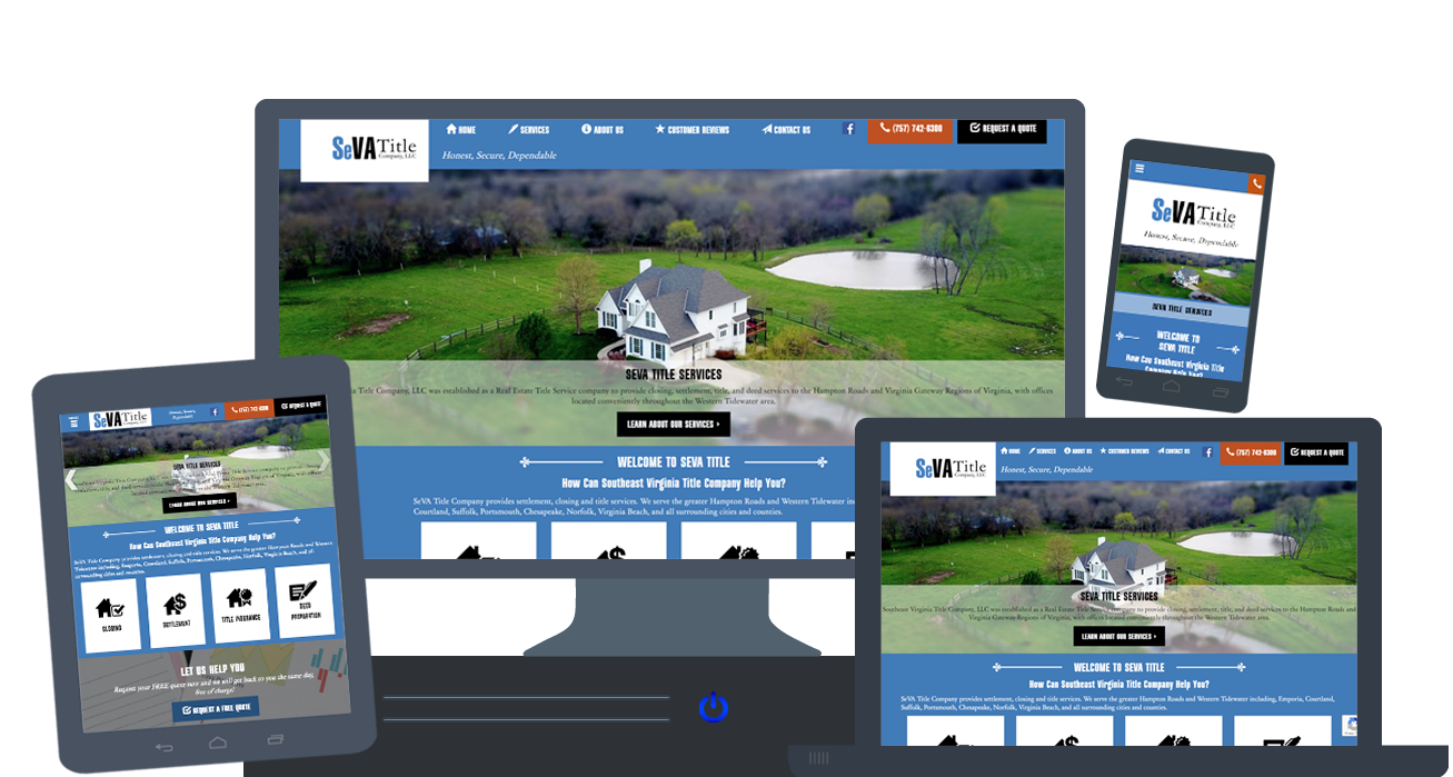 New Website for Southeast Virginia Title Company