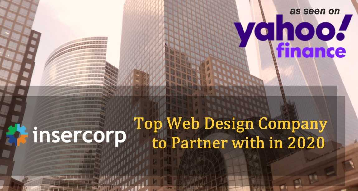 Insercorp Named Top Web Design Company to Partner with in 2020