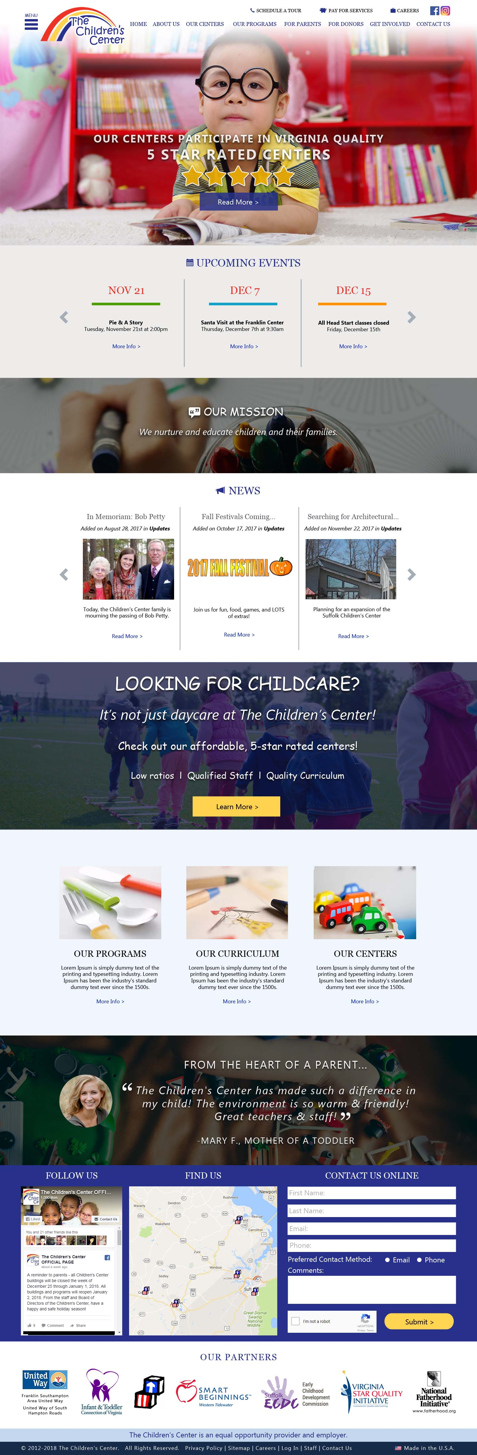 ChildrensCenterVA.com (2018)