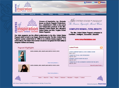 Crowns of Inspiration, Inc website