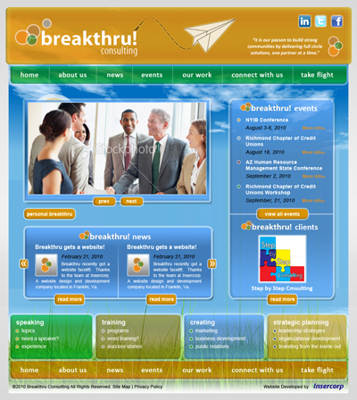 Breakthru! Consulting Website