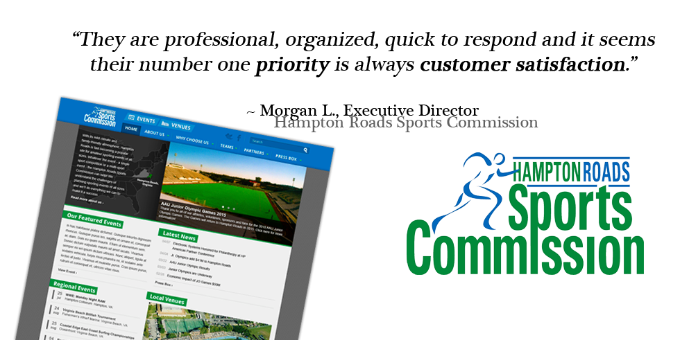 Featured Project Hampton Roads Sports Commission